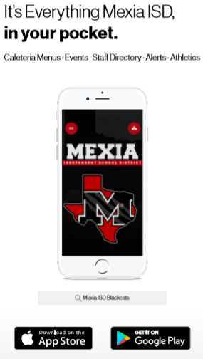 Phone App for Mexia ISD