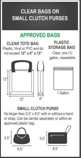 Approved Clear Bags